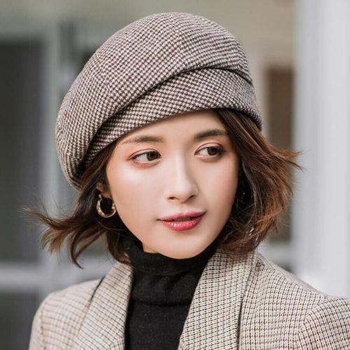 Elegant Beret Hat for Women