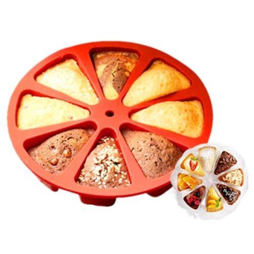 Cake Slice Mold Heat-Resistant Cake Mold