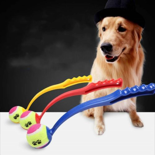 Dog Ball Thrower Stick Fetch Toy