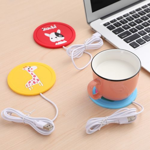 Cartoon USB Mug Heater Coaster