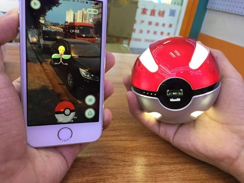 Pokemon Ball Powerbank 10000 mAh Fast Charger