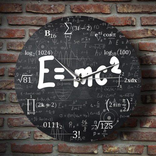 Engineer Clock Relativity Formula Design