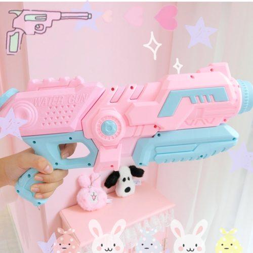 Pink Water Gun Beach Toy