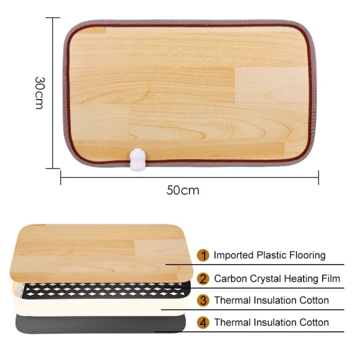 Foot Warmer Mat Electric Heating Pad