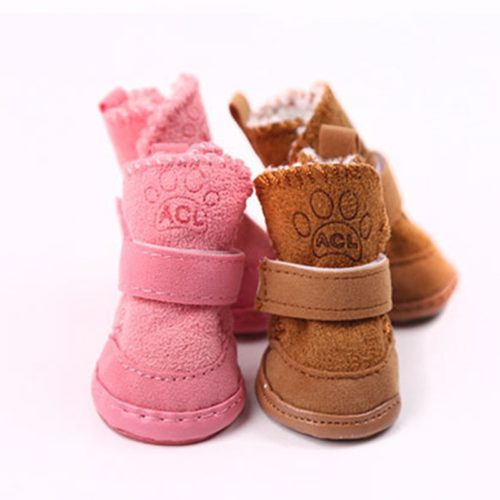 Dog Snow Boots Pet Winter Shoes