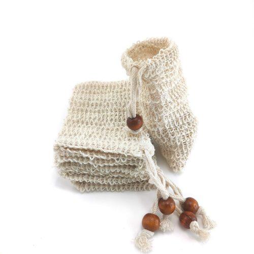 Soap Pouches Exfoliating Bag (2 Pcs)