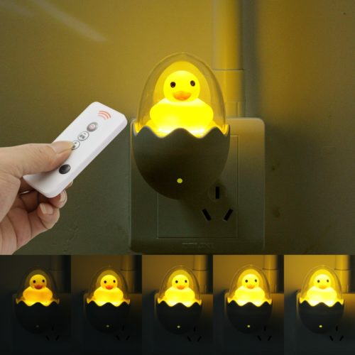 Duck Night Light Socket Wall Lamp