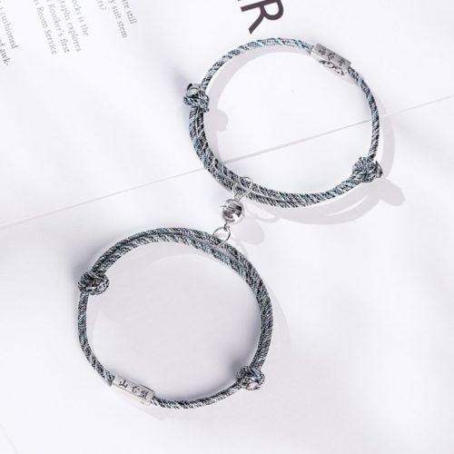 Magnetic Couple Bracelet Distance Accessory