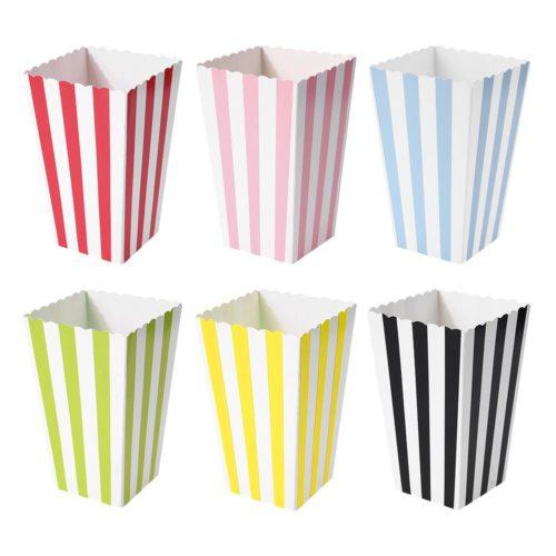Paper Popcorn Boxes Party Supply 12pcs/set