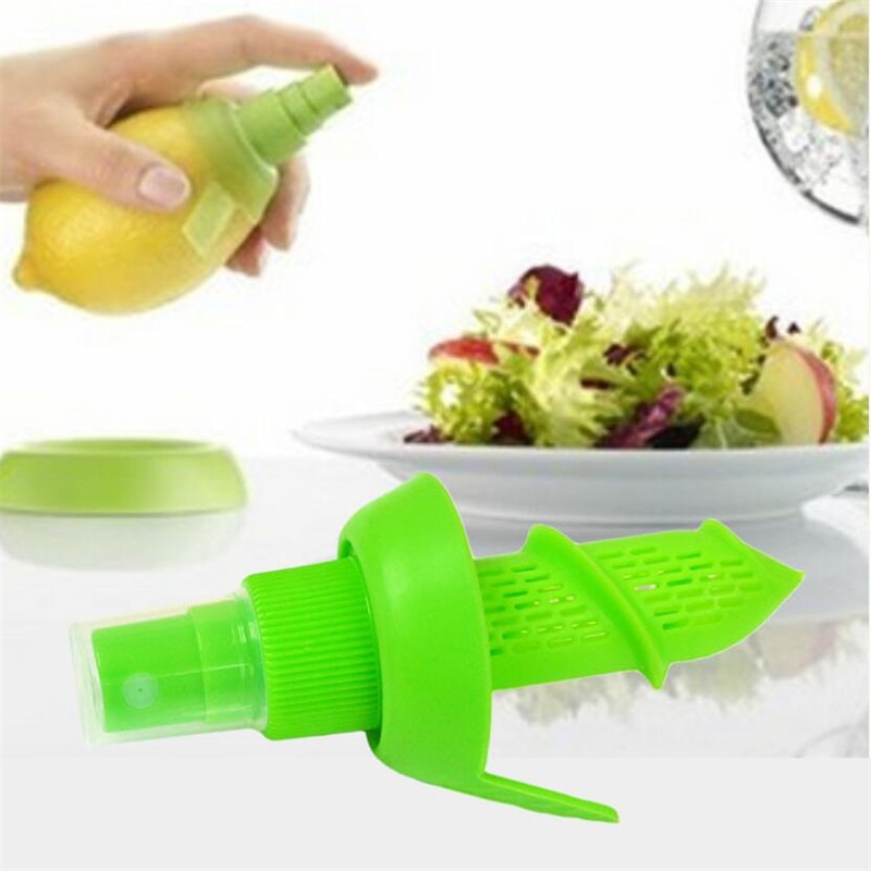 Orange Juice Squeeze Juice Juicer Lemon Spray Mist Orange Fruit Squeezer Sprayer Kitchen Cooking Tool Free Shipping 1PC