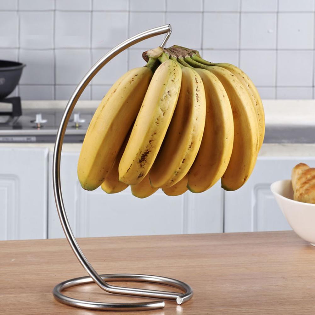 New Multifunction Banana Hanger Rack ruit Displaying Storage Hook Holder for Living Room Decoration Kitchen Storage