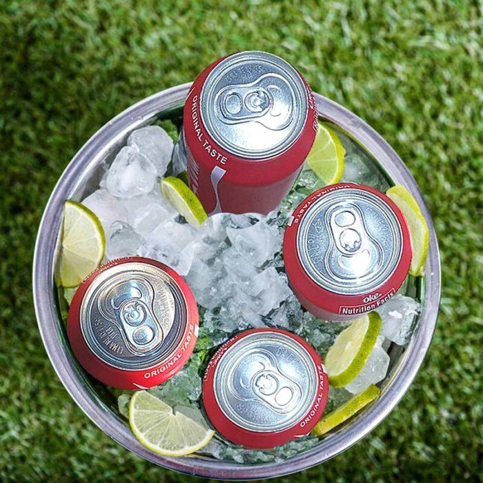 Beer Can Sleeve Soda Design