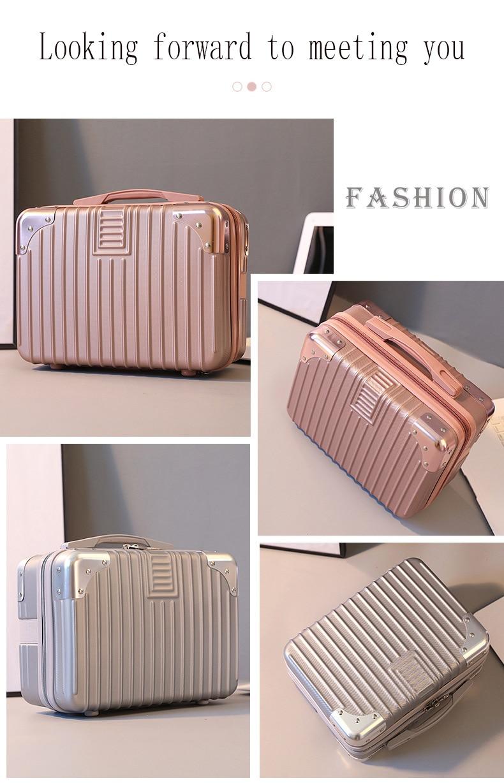 2020 New Professional Makeup Organizer Travel Cosmetic Case For Makeup Bag Mini Storage Bag Cute Women Suitcases Cosmetic Bag