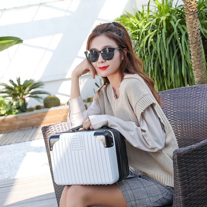 Makeup Suitcase Professional Travel Case