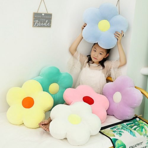 Soft Flower Shaped Pillow Cushion