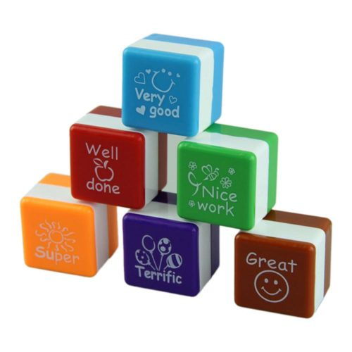 Teacher Stamps Set Reward Seals (6 Pcs)