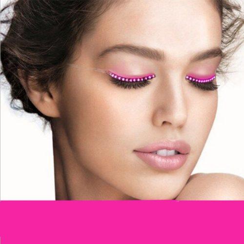 LED Lashes Lighting False Eyelashes