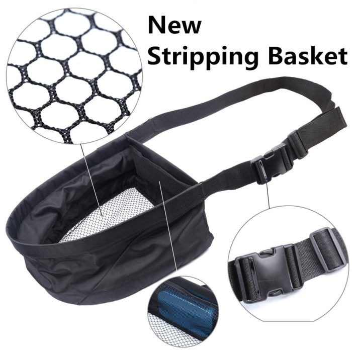 Fly Fishing Stripping Basket with Bag