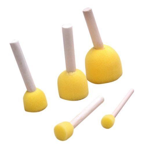Painting Sponge Brushes Set (5pcs)