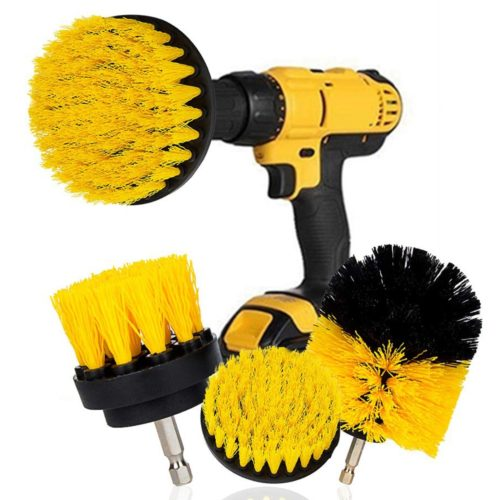 Drill Brush Heads Set of 3