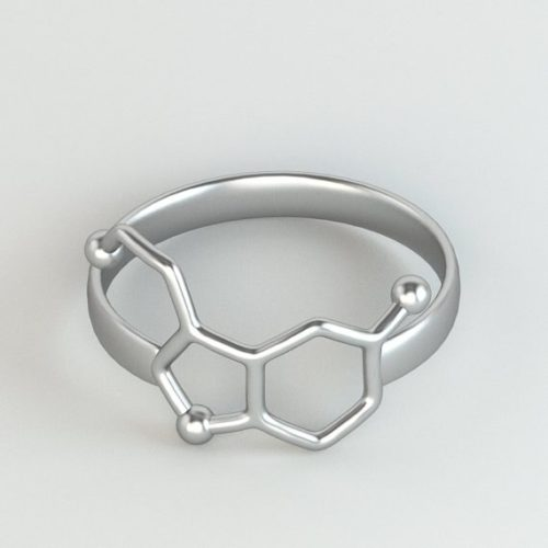Serotonin Ring Unisex Fashion Jewelry