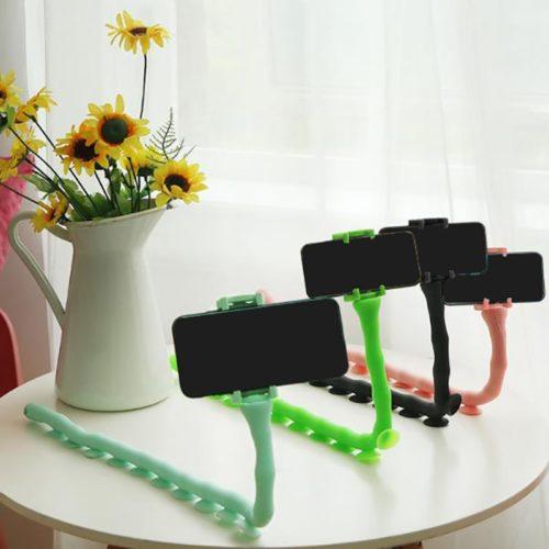 Caterpillar Phone Holder Suction Cups
