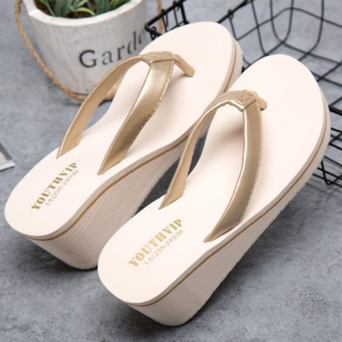 Flip Flop Platform Wedge for Ladies