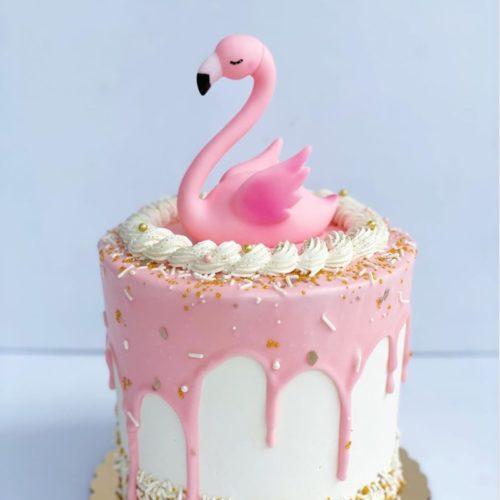 Flamingo Cake Topper Cake Decor
