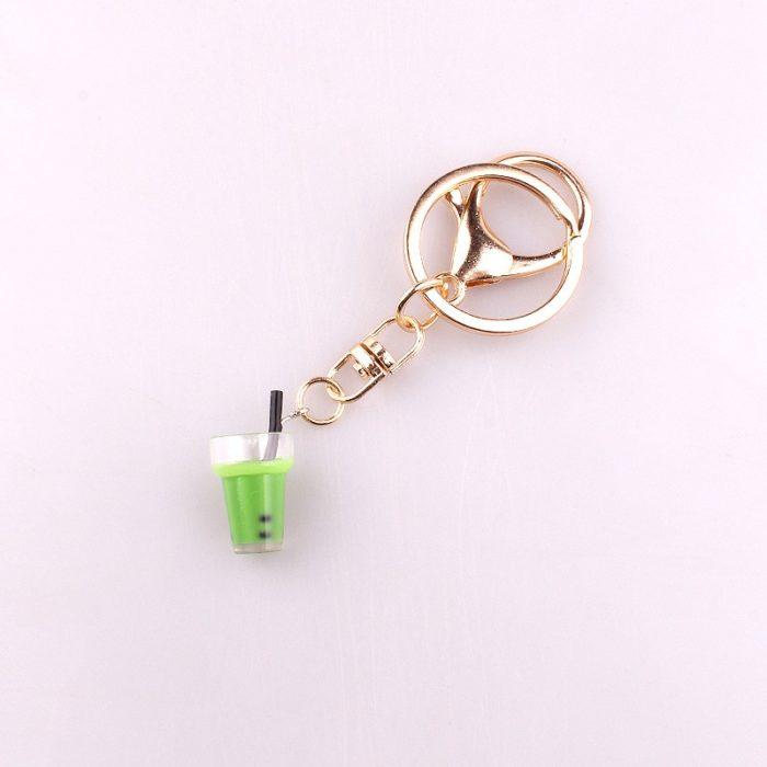 Bubble Tea Keychain Mini Accessory
