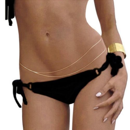 Belly Chain Jewelry Alloy Accessory