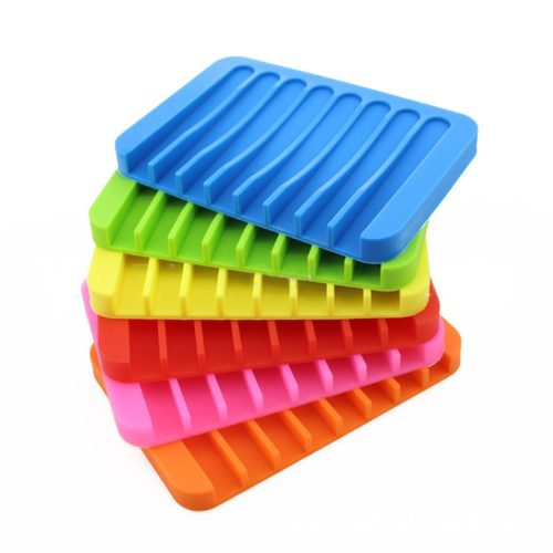 Silicone Soap Dish Anti-Skid Holder