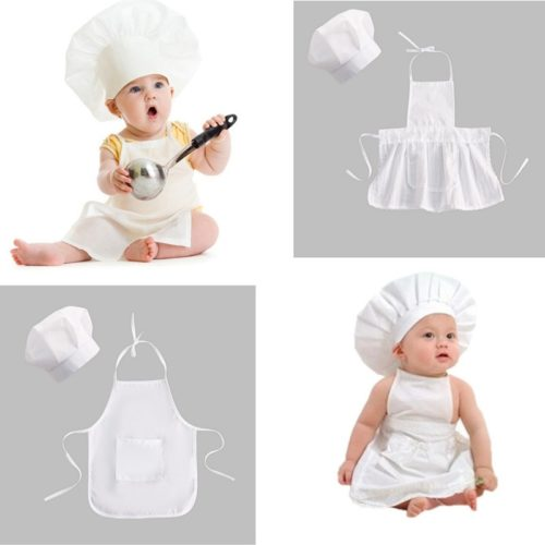 Baby Chef Costume Photoshoot Prop