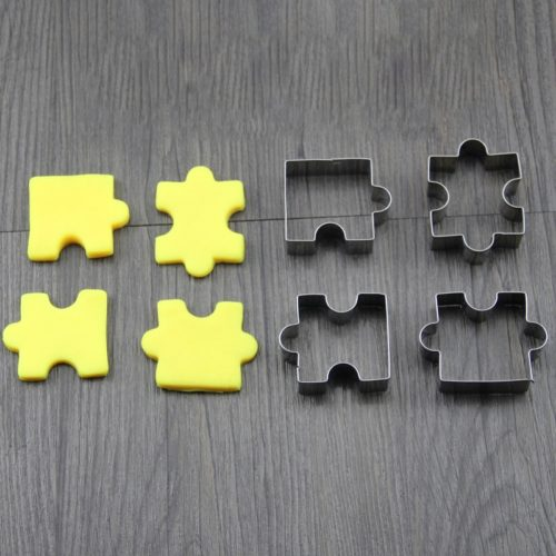 Puzzle Cookie Cutters Set (4pcs)