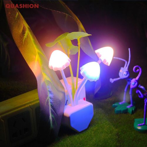 Mushroom Lights Plug LED Night Lamp