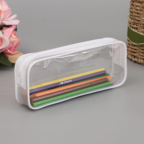 Clear Pencil Case Pen Organizer