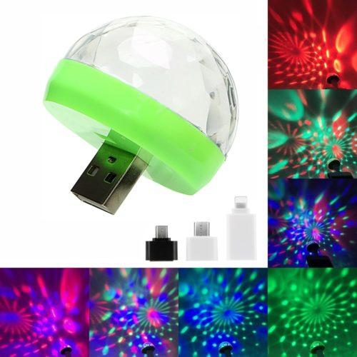 LED Small Magic Ball Plug and Play