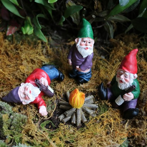 Gnome Figurines Fairy Garden Miniatures