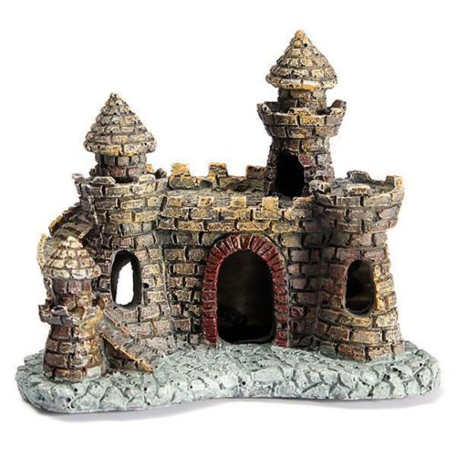 Aquarium Castle Decor Fish Tank Ornament