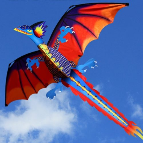 3D Dragon Kite Outdoor Flying Toy