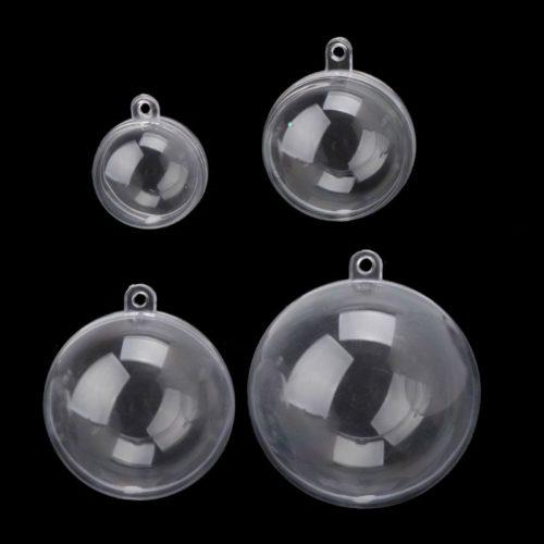 Plastic Bath Bomb Mold Clear Ball