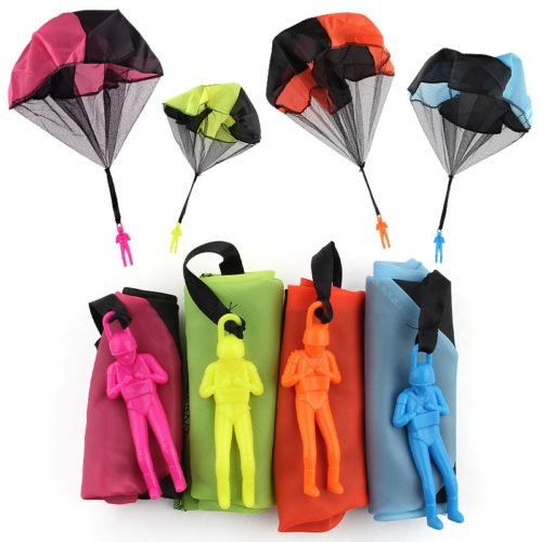 Kids Hand-Throwing Soldier Parachute Toy