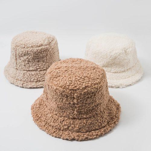 Wool Bucket Hat Fashion Accessory