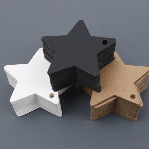 Kraft Gift Tags Blank Paper Label (50 pcs)