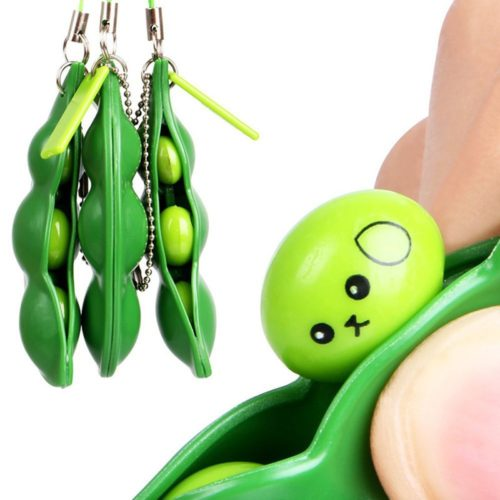 Pea Pod Toy Squeeze Beans