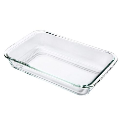 Oven-Safe Clear Glass Baking Dish