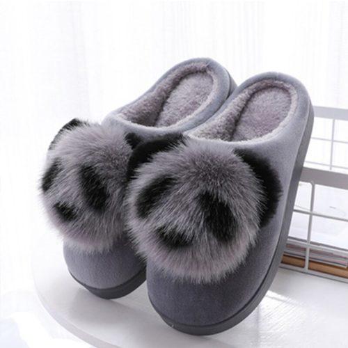 Panda Slippers Ladies Indoor Slippers