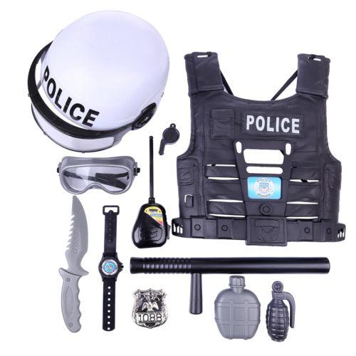 Policeman Toys for Kids (11 Pcs)