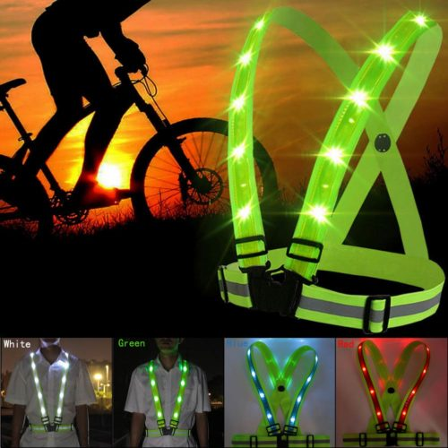 Reflective LED Running Vest