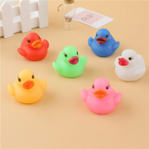 Floating Duck Light Up Bath Toys (6pcs)