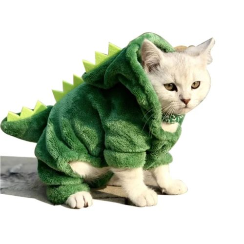 Cat Dinosaur Costume Pet Clothing